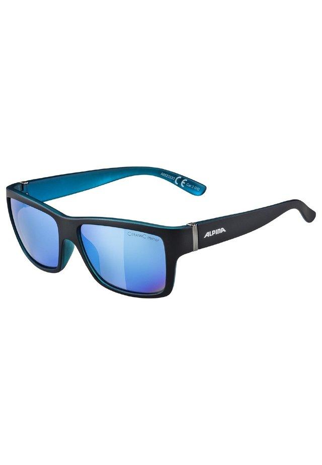 Sports glasses - black matt-blue (a8523.x.33)