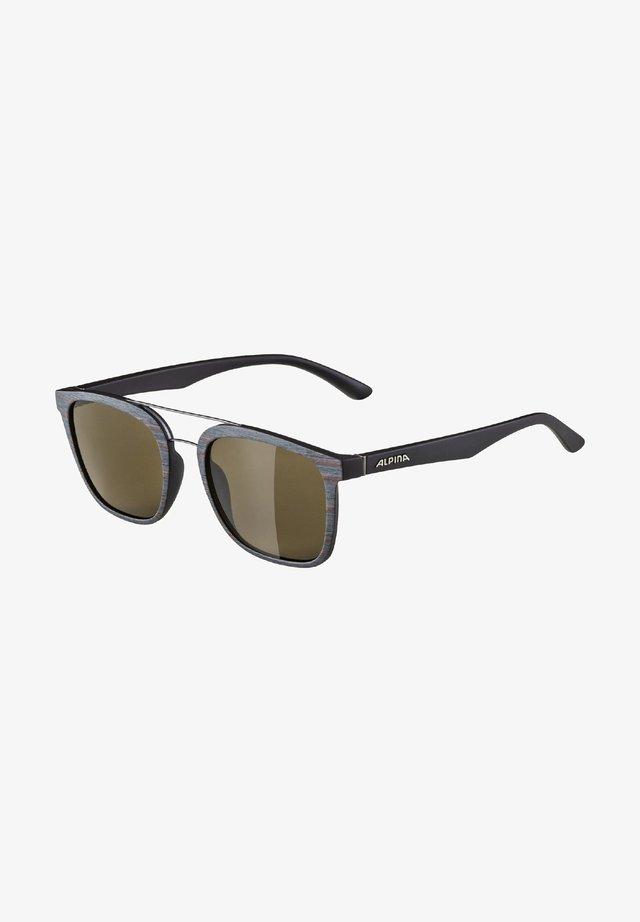 ALPINA CARUMA I - Sunglasses - brown-grey matt (a8636.x.91)