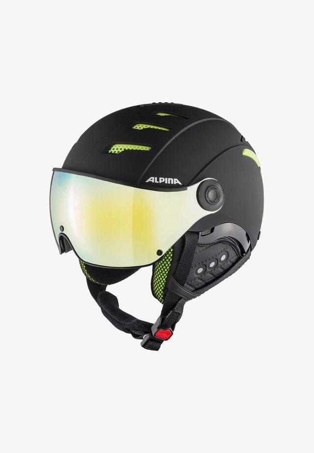 JUMP - Helmet - black-lime matt (a9211.x.31)