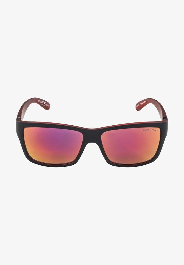 KACEY - Sunglasses - black matt-red (a8523.x.34)