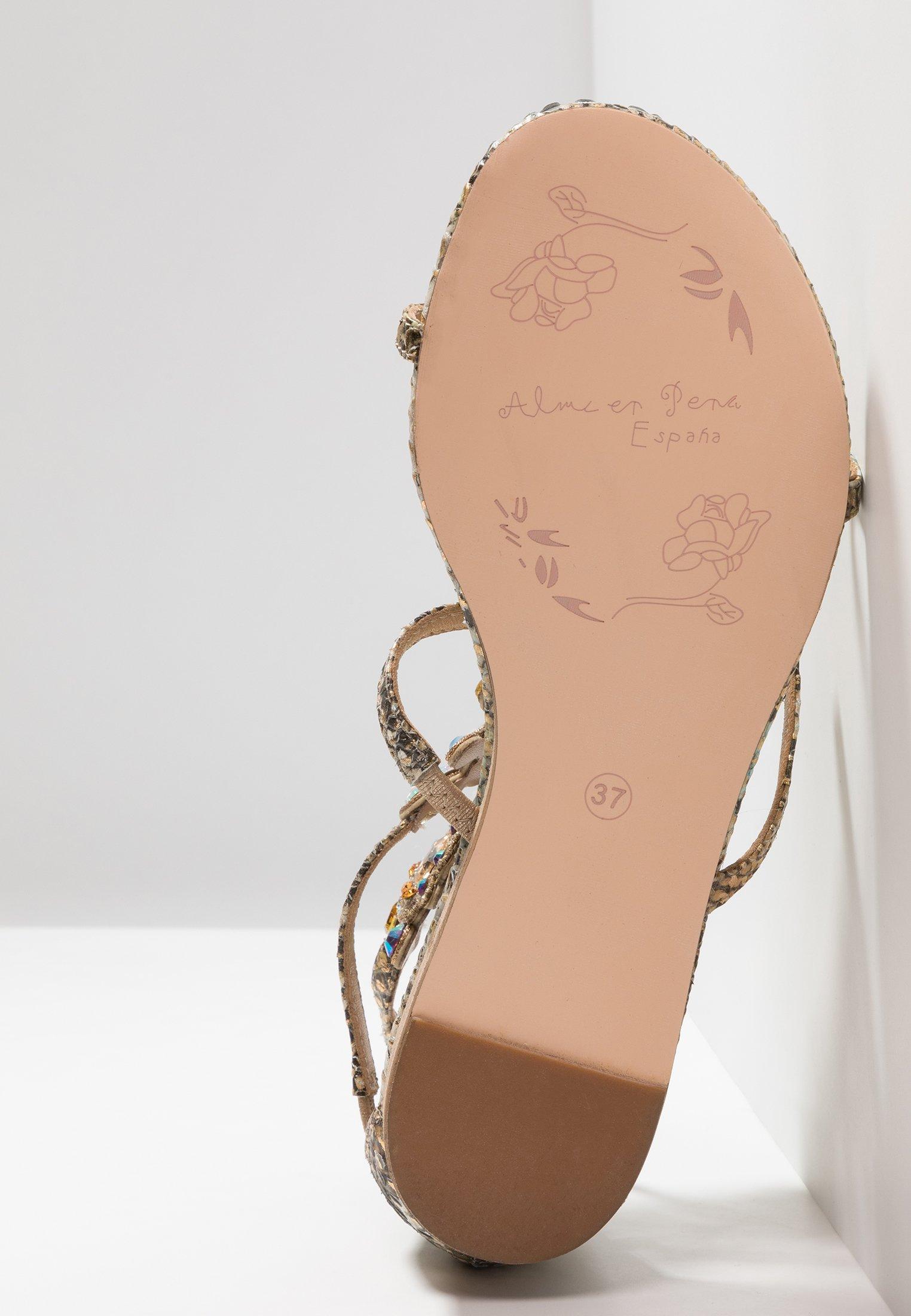 Alma en Pena Sandaler - bronze