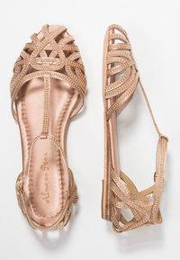 Alma en Pena - Ankle strap ballet pumps - old pink - 3