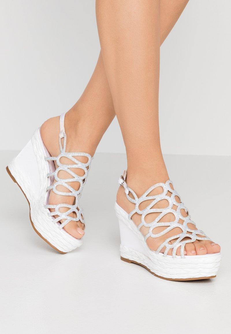 Alma en Pena - Højhælede sandaletter / Højhælede sandaler - white