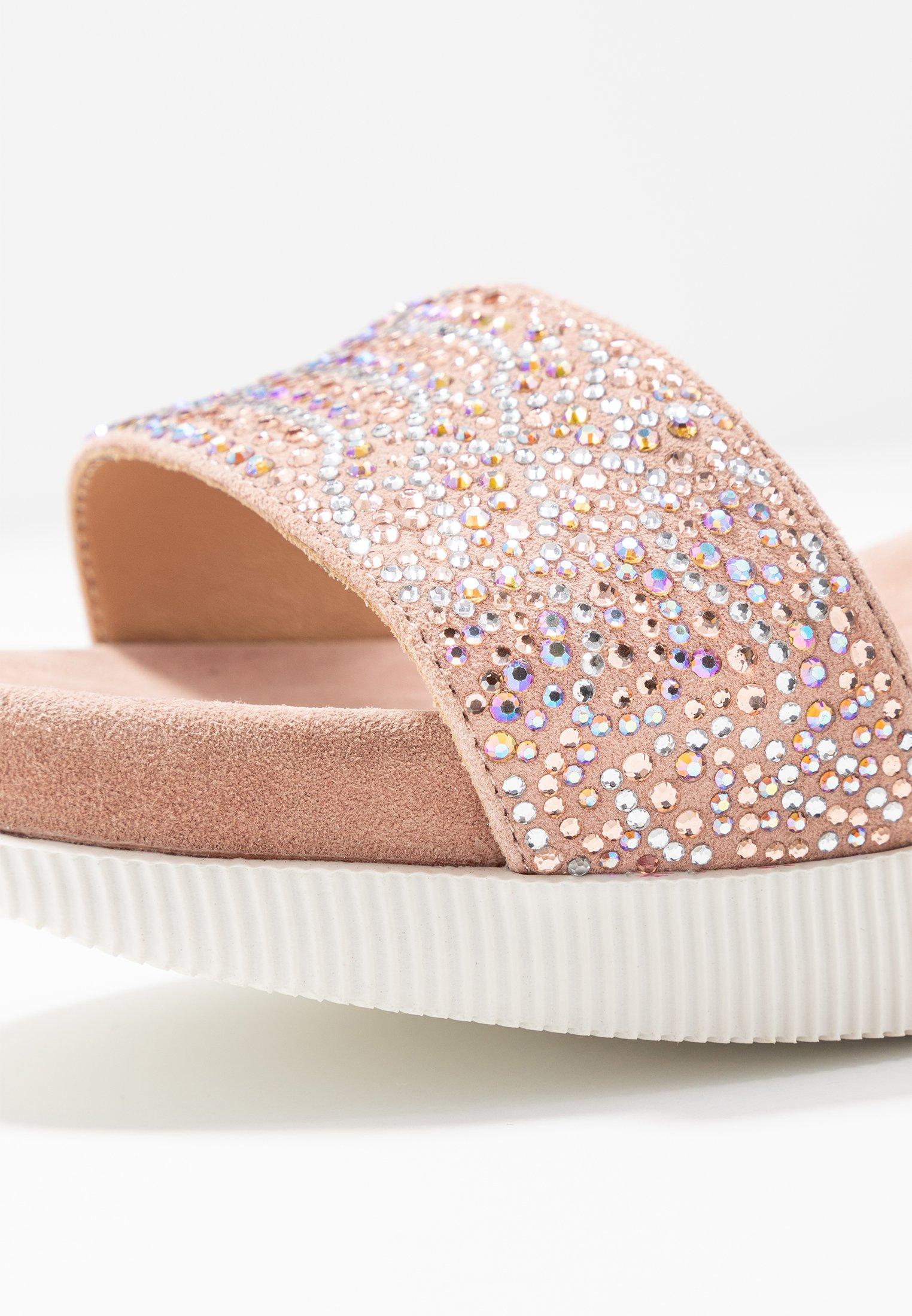 Alma en Pena Platform sandals - old pink