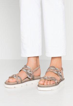 Sandały - taupe