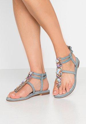 T-bar sandals - jeans