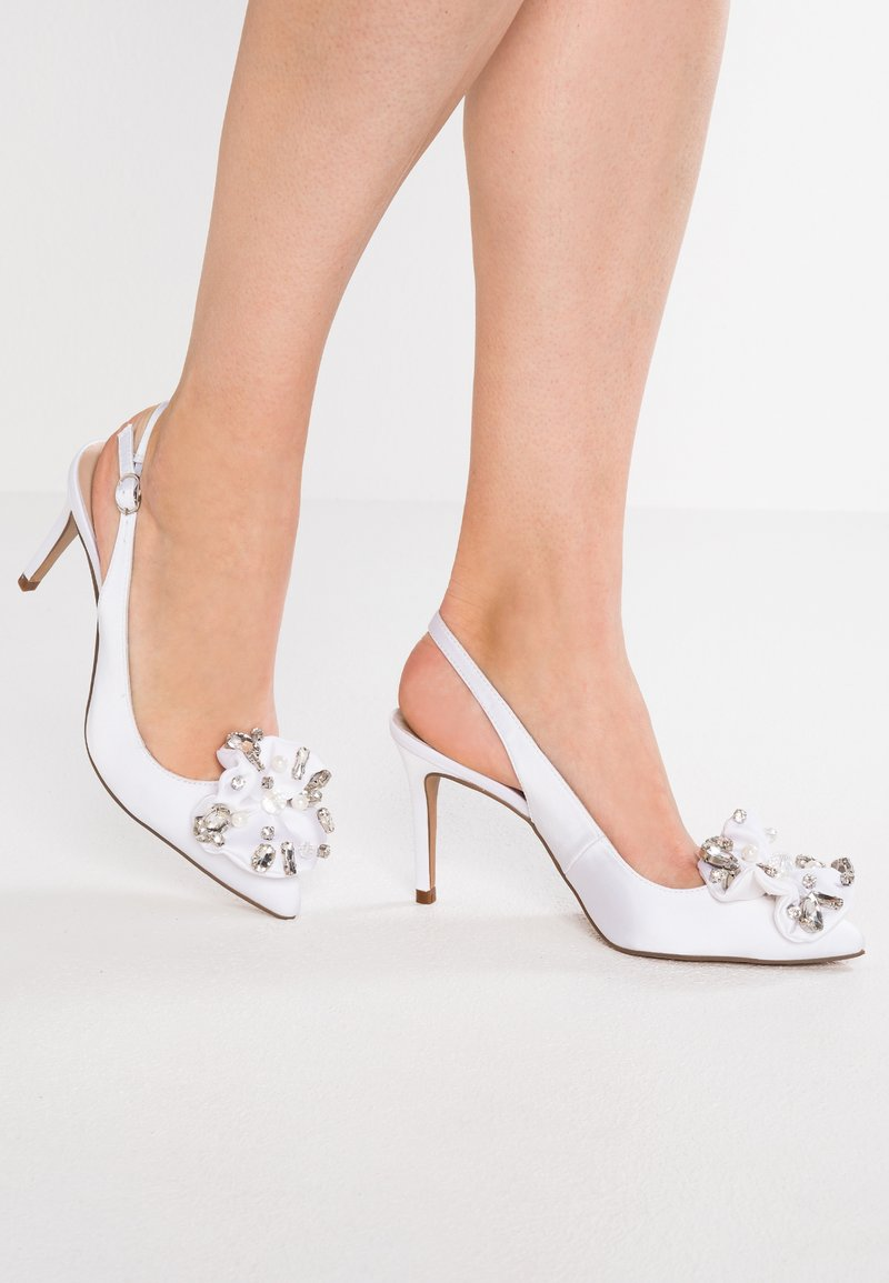 Alma en Pena - Zapatos altos - white