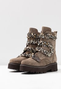Alma en Pena - Platform ankle boots - taupe - 4