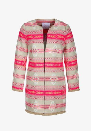 MANTEL - Halflange jas - pink