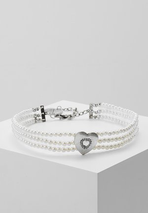 Halsband - cremeweiß