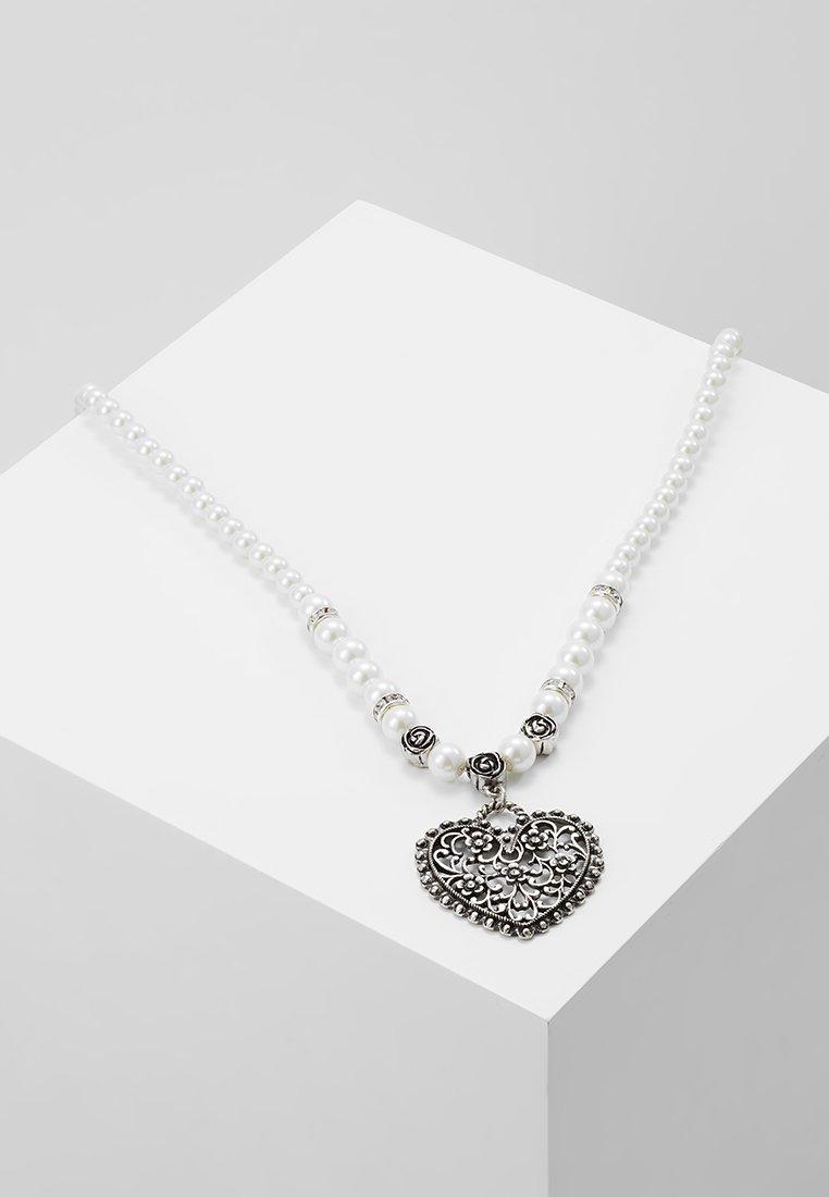 Alpenflüstern - Halskette - cremeweiß