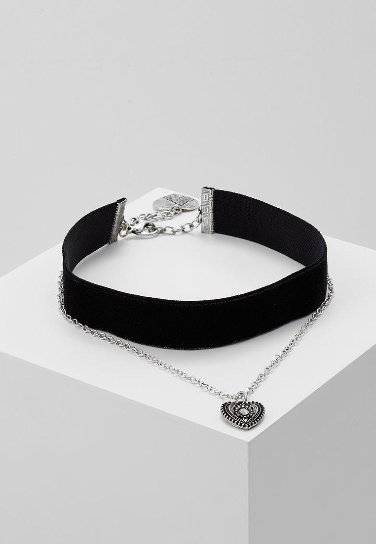 Alpenflüstern - Halskette - schwarz