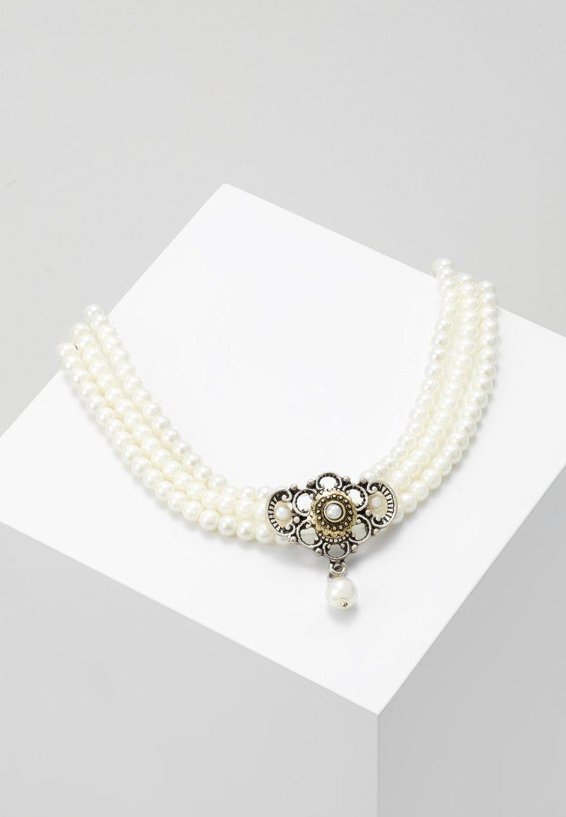 Alpenflüstern - HEDWIG - Halskette - cremeweiß