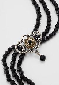 Alpenflüstern - HEDWIG - Halskette - schwarz - 4