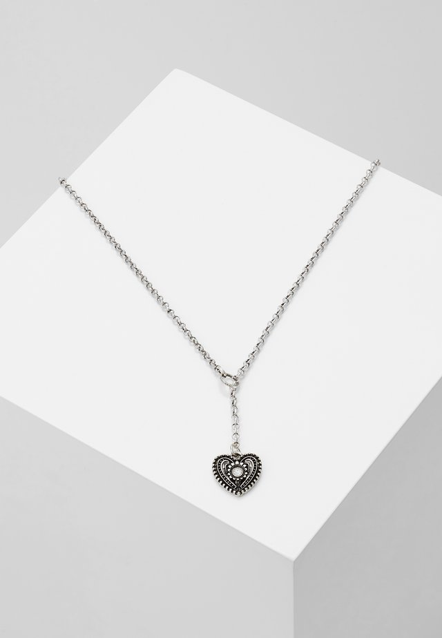 TRACHTENHERZ - Necklace - silver-coloured