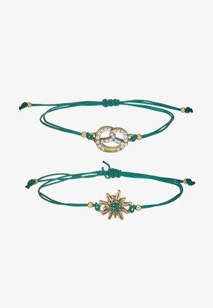 BREZE SET - Bracelet - grün