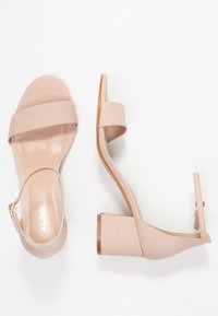 ALDO Wide Fit - WIDE FIT VILLAROSAW - Sandals - blush nude - 3