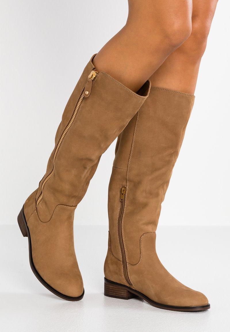 ALDO Wide Fit - WIDE FIT GAENNAWC - Boots - medium brown