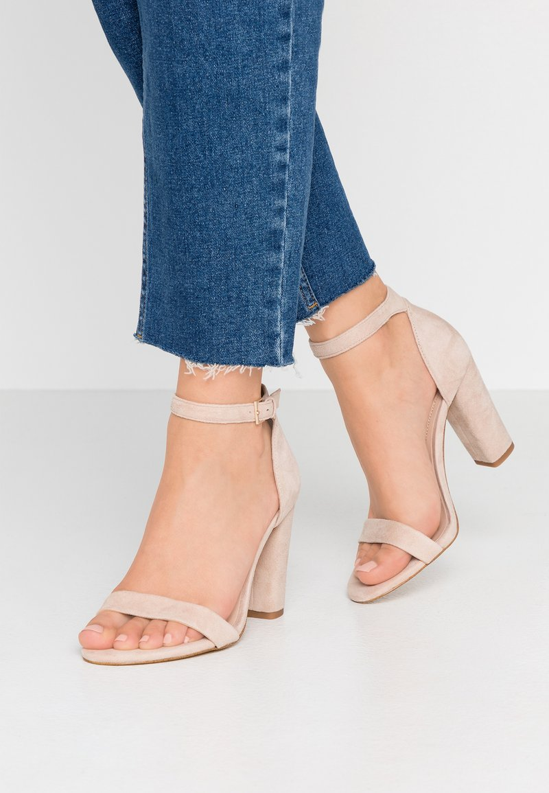 ALDO Wide Fit - WIDE FIT JERAYCLYA - High heeled sandals - rugby tan