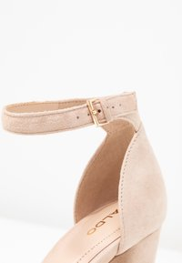 ALDO Wide Fit - WIDE FIT JERAYCLYA - High heeled sandals - rugby tan - 2