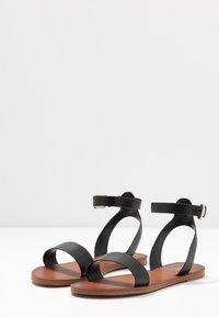 ALDO Wide Fit - WIDE FIT CAMPODORO - Sandaalit nilkkaremmillä - black - 2