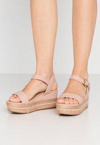ALDO Wide Fit - WIDE FIT MAUMA - Sandály na platformě - other pink - 0