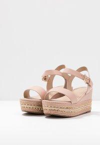 ALDO Wide Fit - WIDE FIT MAUMA - Sandály na platformě - other pink - 4
