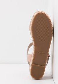ALDO Wide Fit - WIDE FIT MAUMA - Sandály na platformě - other pink - 6