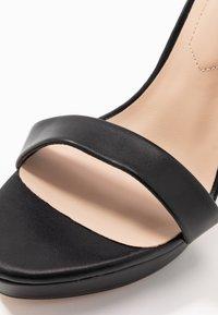 ALDO Wide Fit - WIDE FIT MADALENE - Sandály na vysokém podpatku - black - 2