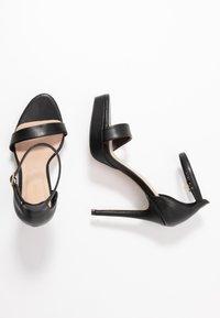 ALDO Wide Fit - WIDE FIT MADALENE - Sandály na vysokém podpatku - black - 3