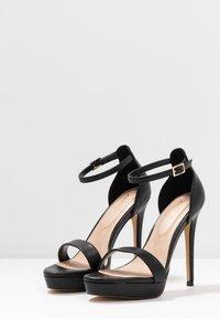 ALDO Wide Fit - WIDE FIT MADALENE - Sandály na vysokém podpatku - black - 4
