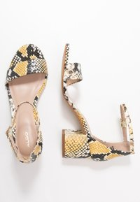 ALDO Wide Fit - WIDE FIT VILLAROSA - Sandály - other yellow - 3