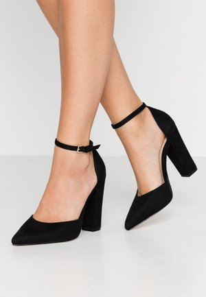NICHOLES WIDE FIT - Escarpins à talons hauts - black