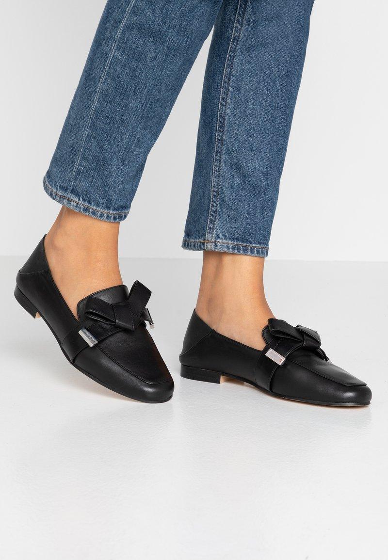ALDO Wide Fit - DWENAWIA - Slip-ons - black