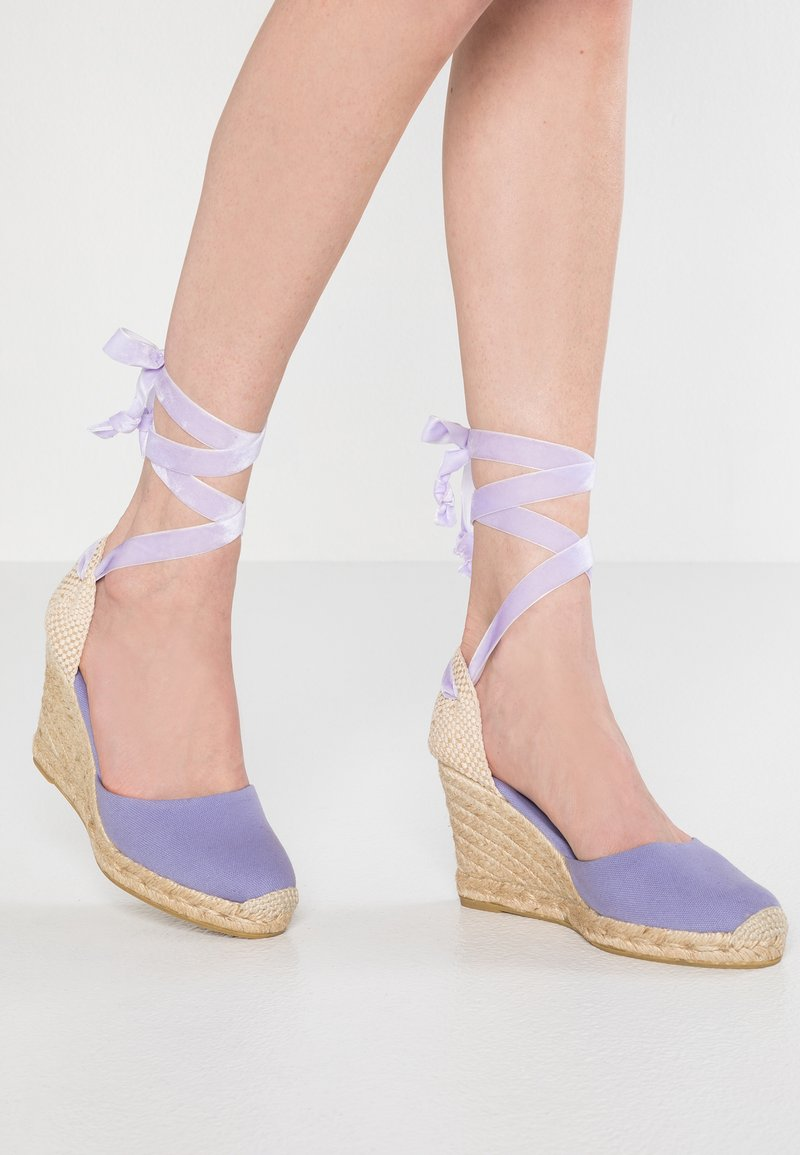 ALOHAS - CLARA BY DAY - Højhælede sandaletter / Højhælede sandaler - lona malva