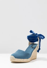 ALOHAS - CLARA BY DAY - High Heel Sandalette - stone aqua - 4