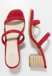 ALOHAS - LAURA - Pantolette hoch - red - 3
