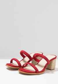 ALOHAS - LAURA - Pantolette hoch - red - 4