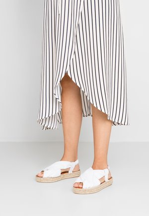 AMAND - Plateausandalette - white