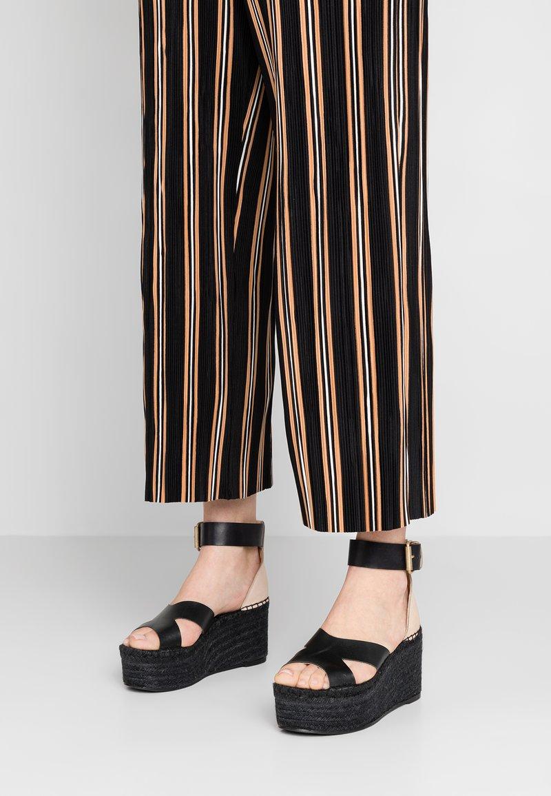 ALOHAS - KUKO - Højhælede sandaletter / Højhælede sandaler - black