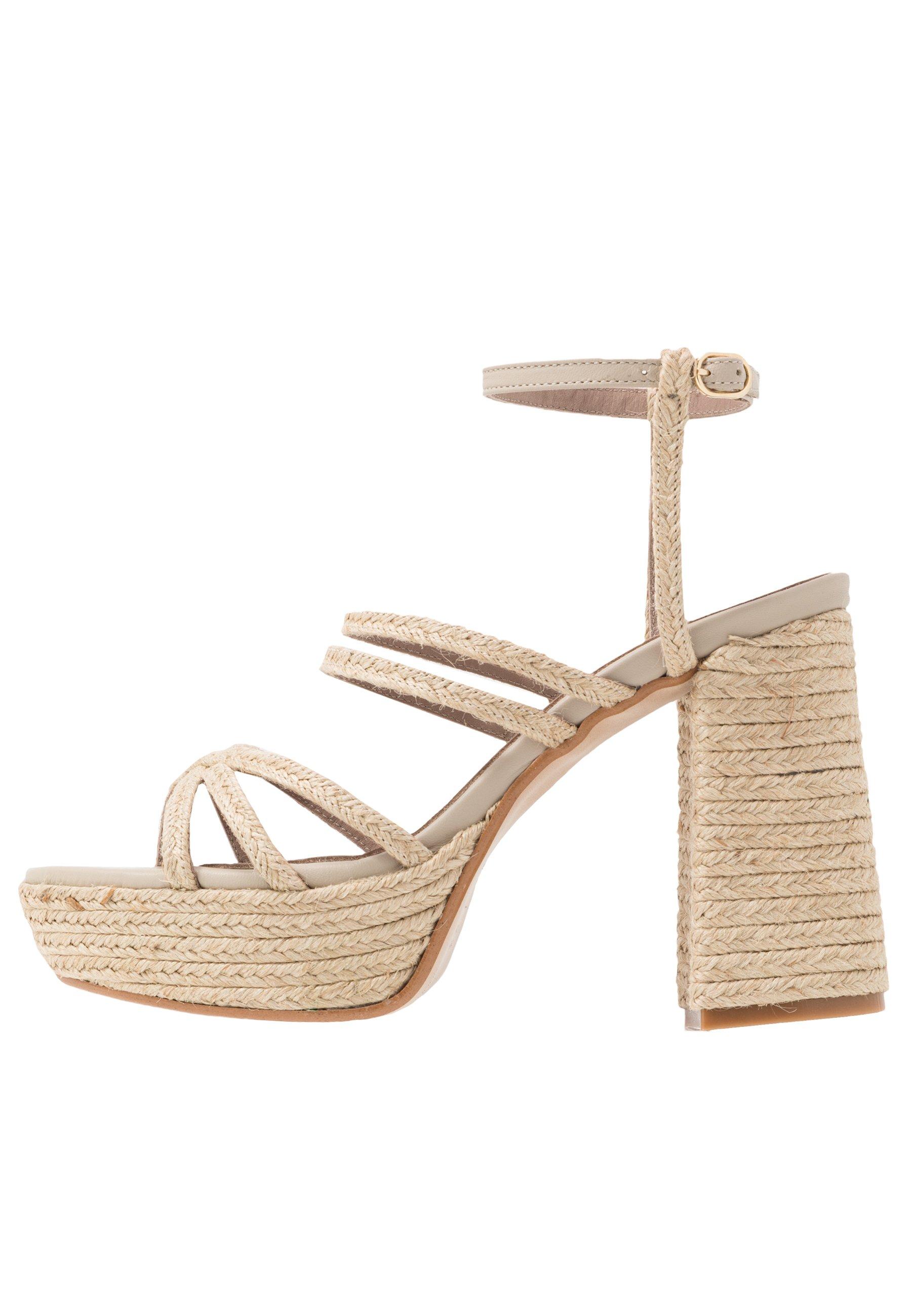 Alohas Carioca - Sandalen Met Hoge Hak Natural Goedkope Schoenen