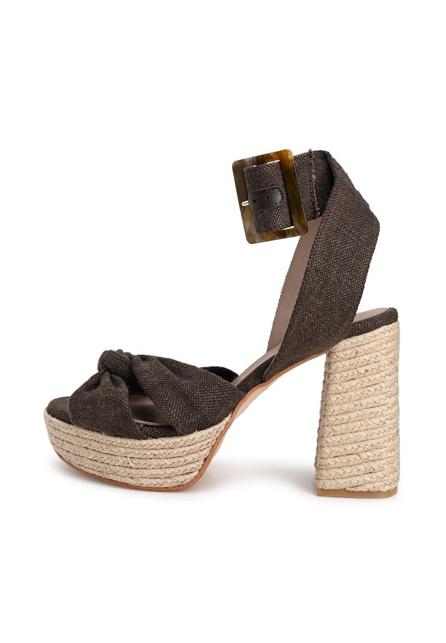 NOITE - High heeled sandals - brown