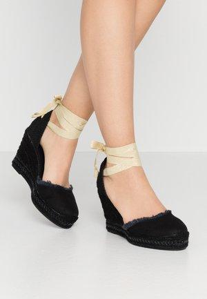 CLARA BY NIGHT - High heeled sandals - black
