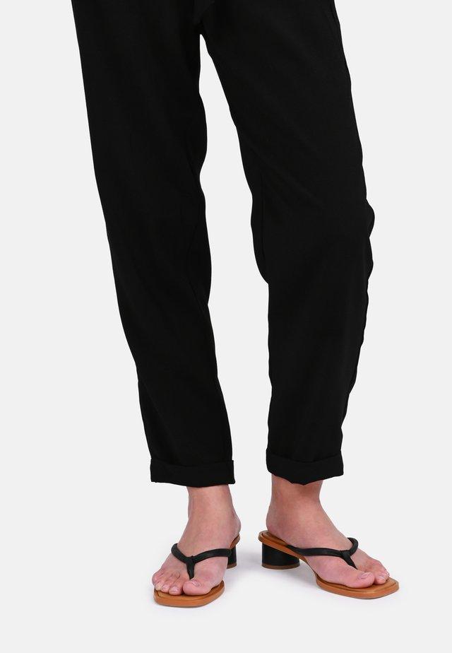 BEIJO - T-bar sandals - black