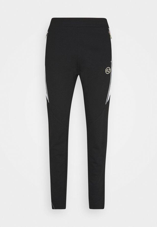 MARINO INTERLOCK JOGGER - Pantalon de survêtement - black