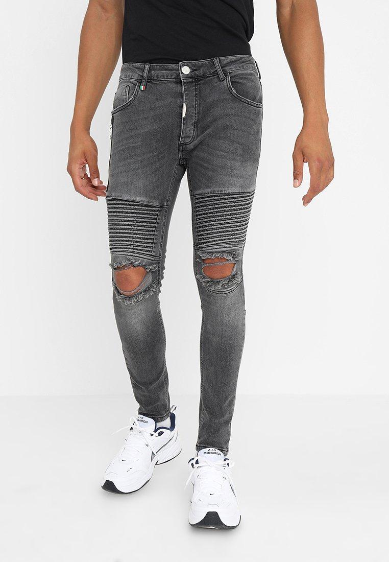 Alessandro Zavetti - TIRSO - Jeans Skinny Fit - grey