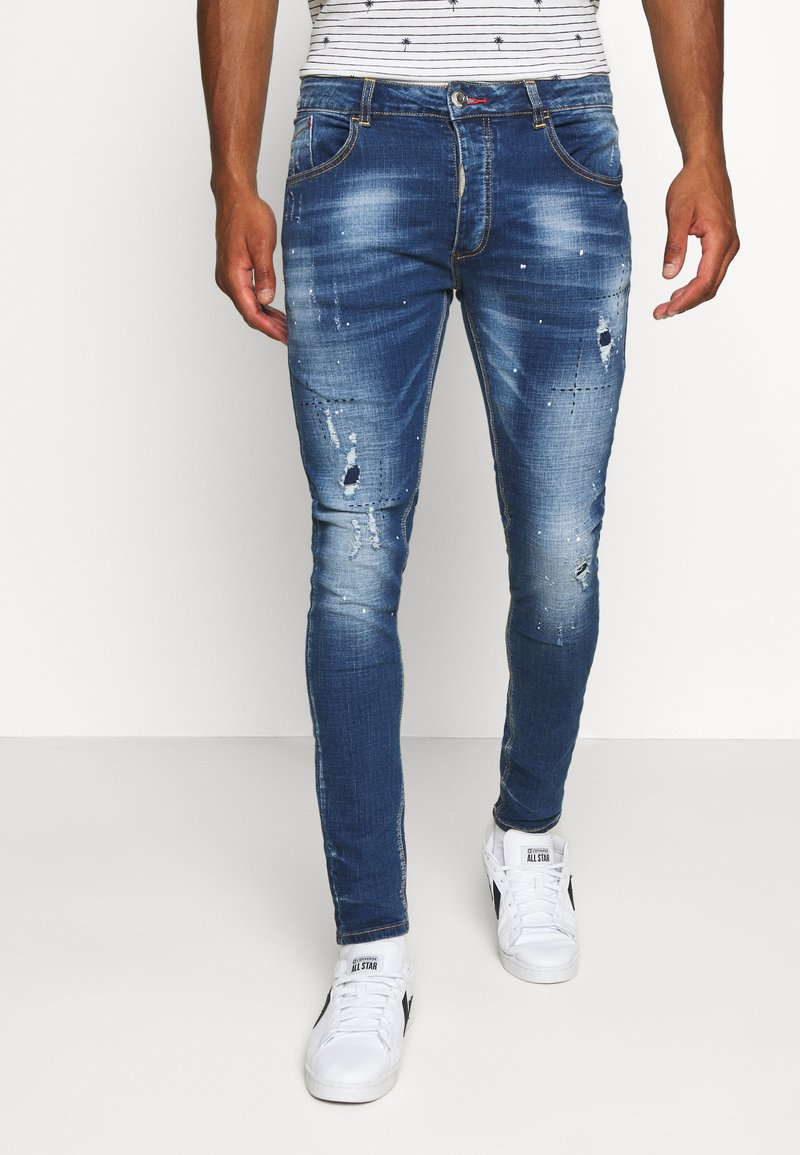 Alessandro Zavetti - Slim fit jeans - blue wash