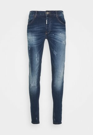 RIMNI CARROT - Jeans Tapered Fit - blue wash