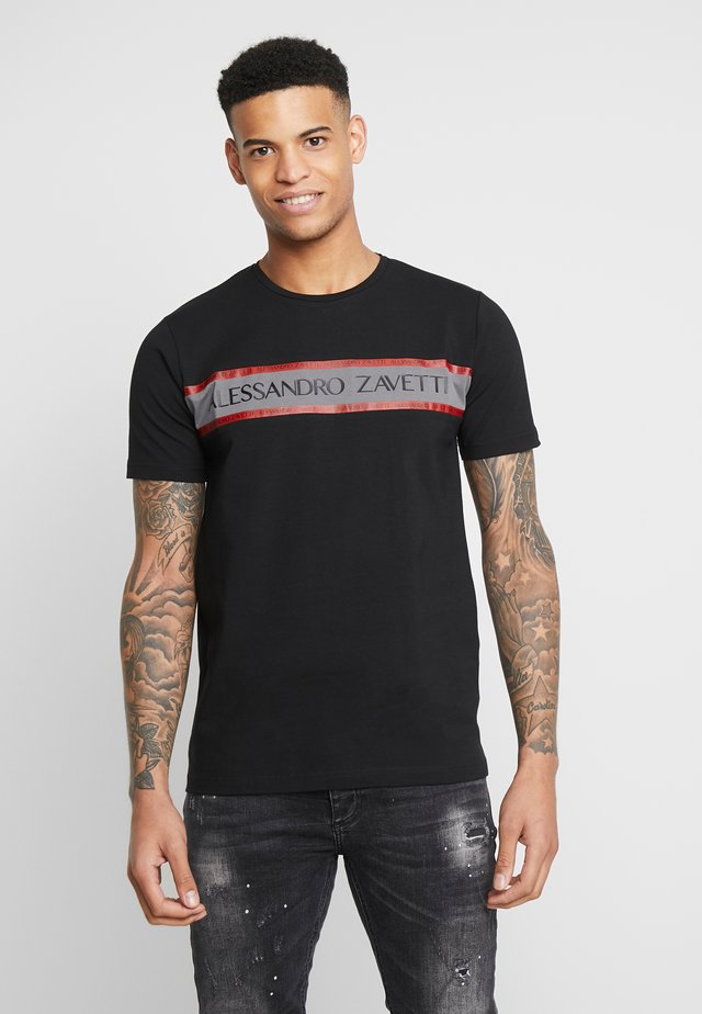LEONDRO  - Print T-shirt - black