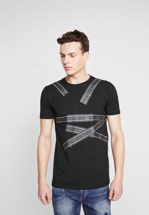 ORATIO - T-shirt imprimé - black